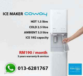 Ice Maker Coway With Water Purifier