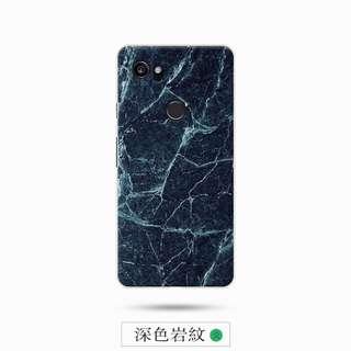 全新 Google Pixel XL2 深色岩紋軟膠手機殼