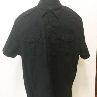 Casual Black Shirt