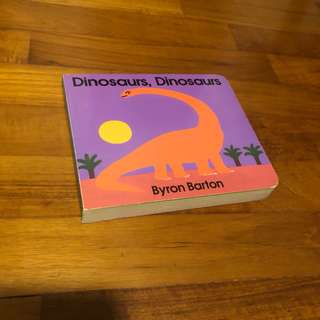 1-3Y EUC Byron Barton Dinosaurs