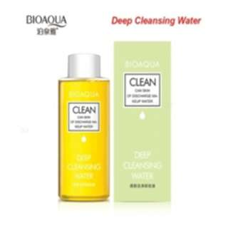 Deep Cleansing Water Natural Purifying Olive Oil Make up remover - 150ml