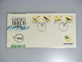 Singapore FDC Garden Birds