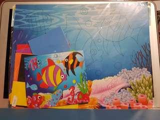 Kids art and craft kit