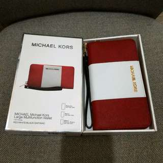 MICHAEL KORS Large Multifunction Wallet 銀包