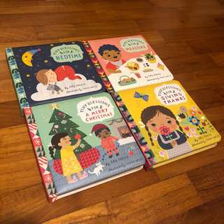 1-3Y NEW 4x Tiny Blessings Board Books Set