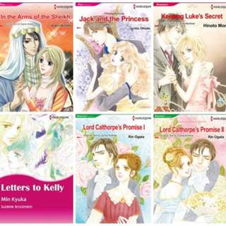 Paket Ebook Komik Harlequin English 3