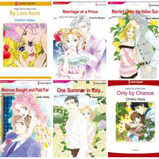 Paket Ebook Komik Harlequin English 4