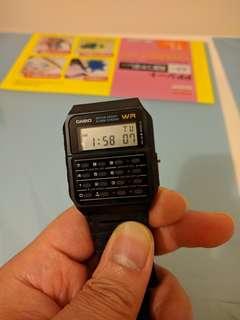 Casio ca53w 計數機手錶