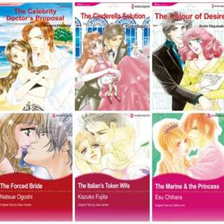 Paket Ebook Komik Harlequin English 7