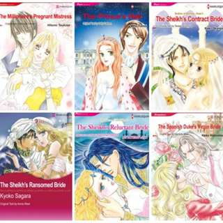 Paket Ebook Komik Harlequin English 8