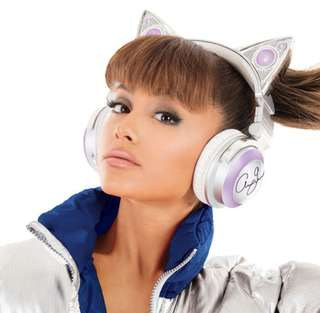 LIMITED Edition Ariana Grande cat headphones(price redused for fast deal by this week friday only)
