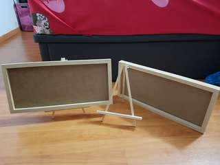 Frame board and easel