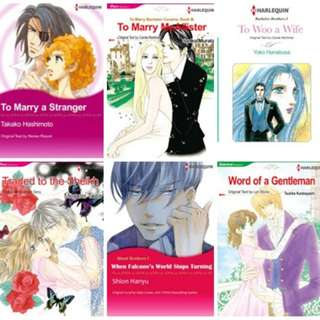 Paket Ebook Komik Harlequin English 9