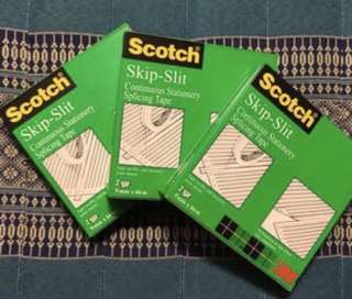 ✅🉑交換✅ Scotch思高® ™ Skip-Slit Tape (9mm x 66m)✨全新✨