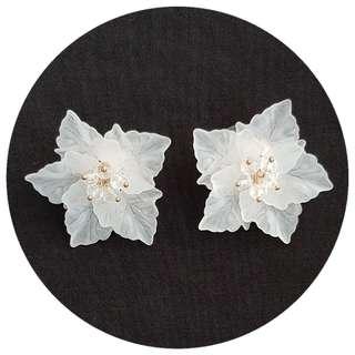 Big Floral Earrings