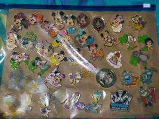 日本disney pin Mickey Minnie Daisy goofy 燈神