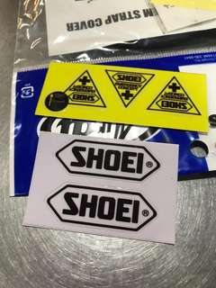 Shoei Emergency Stickers