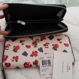 Coach wallet tea rse