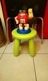 M&M's紅M造型收音機