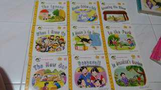 Pelangi educational story books (Completed series from level 3-6) Total 35 books