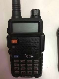 ICOM IC-UV90 2WAY RADIO WALKIE TALKIE RADIO