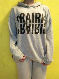 Grey hoodie by Lepsim