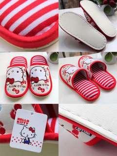 日本Hello Kitty 家具拖鞋手工一流舒適PU鞋底📮包郵