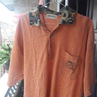 polo u shirt unik (kerah army)