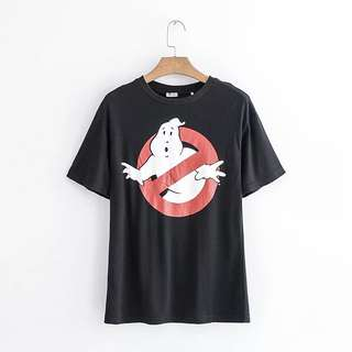 Po: ghost busters iconic graphic t shirt