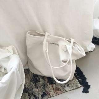 韓版帆布手袋