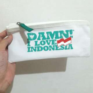 damn! i love indonesia multicase white