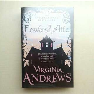 [LARGE DISCOUNT] Flowers In The Attic Book BY Virginia Andrews, International Bestseller, COVER WRAPPED, Unread