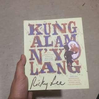 Kung Alam N'yo Lang by Ricky Lee