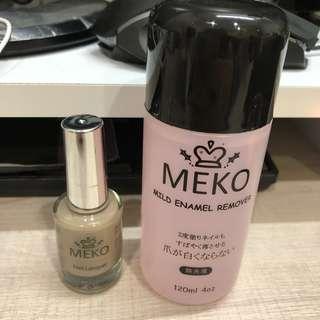 MEKO指甲油22號+去光水