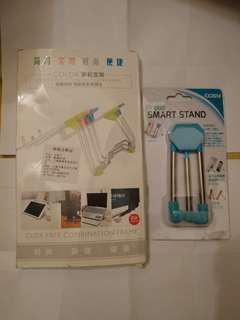 (😙💯new🇰🇷🈹韓國買回來的電話及電腦平坂的stand 🆓大藍色支架一個