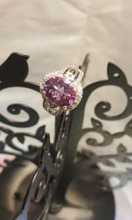 SHINE JEWELLERY SILVER925 violet ring