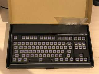 WASD TKL 87-key mechanical keyboard with 65g Zealios switches