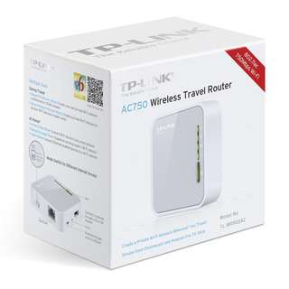 TP-LINK AC750 Wireless Travel Router (TL-WR902AC)