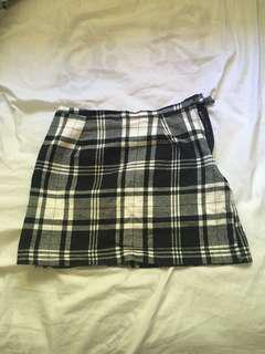 Plaid Mini-Skirt