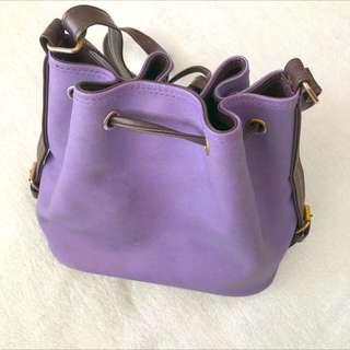 Free Shipping !! Purple Bucket Bag