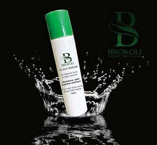 🚚 READY STOCK💕BROKOLI SCALP SERUM REFILL / 15ml..Processing proceed upon full payment received via bank transfer.