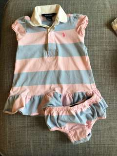 3)Polo Ralph baby girl 12 months