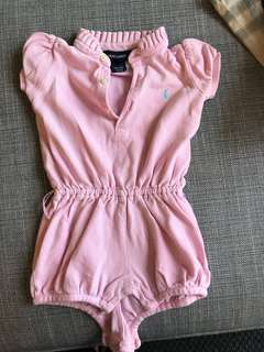 5) Polo Ralph 12 month baby girl jumper