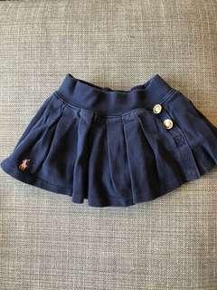 6) Polo Ralph baby girl skirt