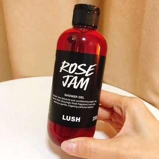🚚 LUSH ROSEJAM SHOWER GEL 250g