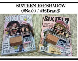 Sixteen Eyeshadow