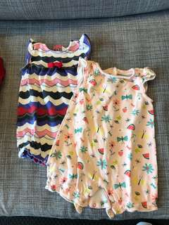 Gymboree 3-6 months baby girl suit