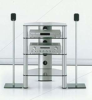 Sonorous RX2140 Hi Fi Rack (Silver)