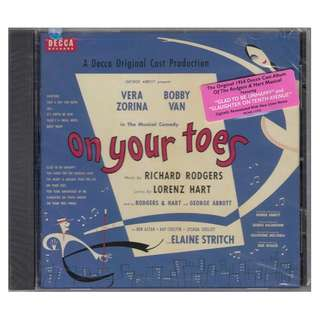 <A Decca Original Cast Production - On Your Toes> 1997 CD (Brand New)