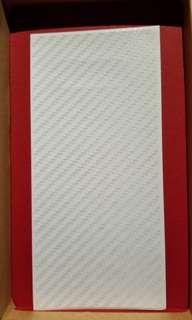 Samsung note8 背面 仿炭纖維 保護貼(全新)